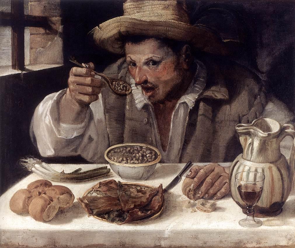 zuppa di fagioli dall'occhio (Annibale_Carracci_-_The_Beaneater_-_WGA044086)