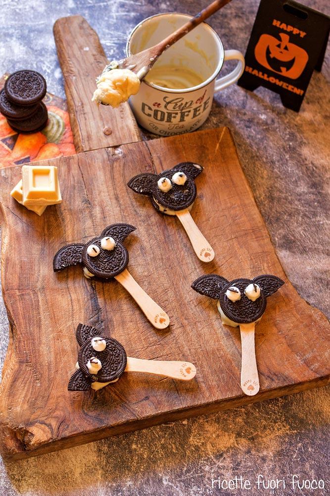 Dolcetti Halloween bat Oreo pops