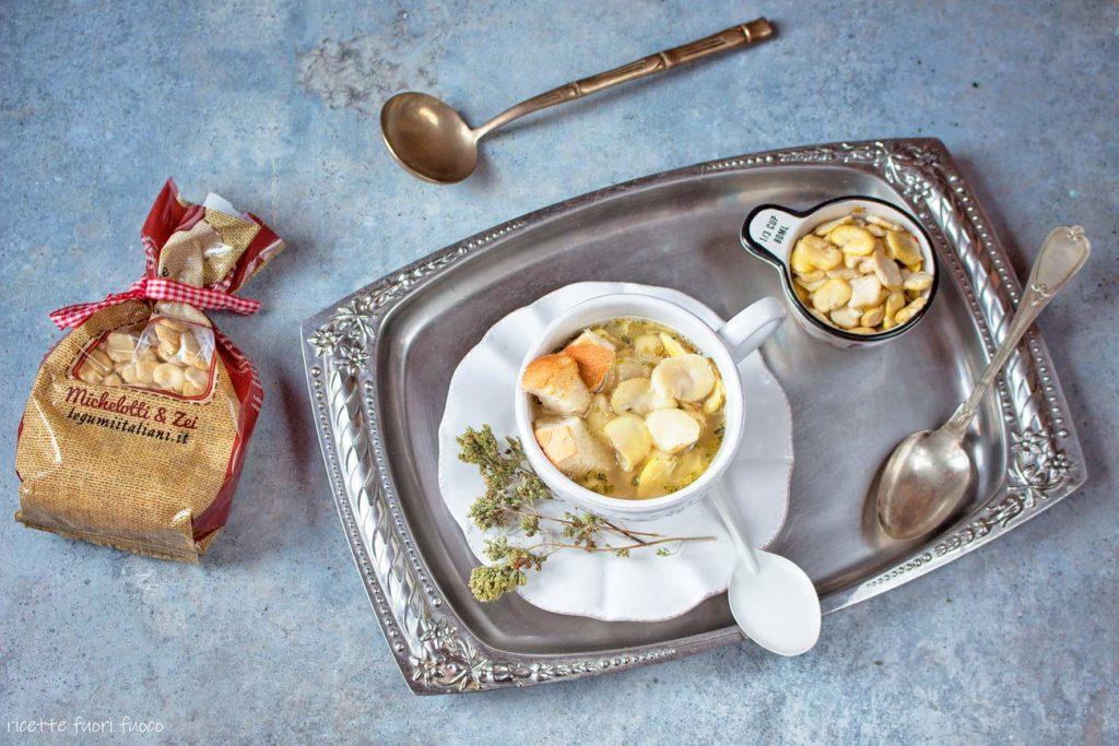 zuppa di fave alla calabrese_ricetta genovese
